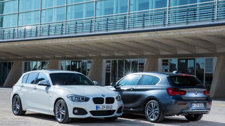 Redizajniran BMW serije 1